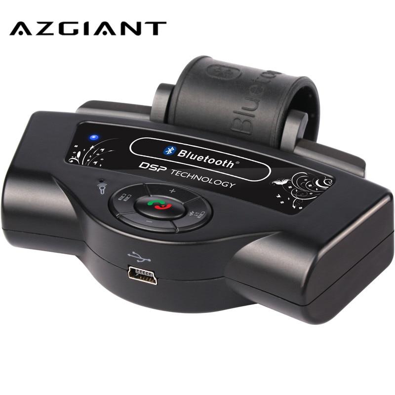 AZGIANT transmisor FM con Bluetooth negro Kit de coche inalámbrico manos libres volante reproductor MP3 Música Radio Estéreo BT8109B