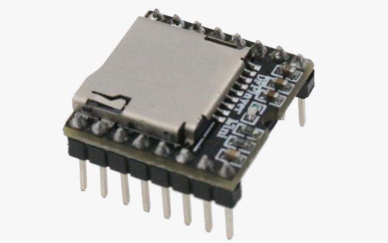 Cartão de u Disco de Áudio Board para Arduino Leitor de Mp3 Módulo df Play Atacado 5 Pcs tf Voz