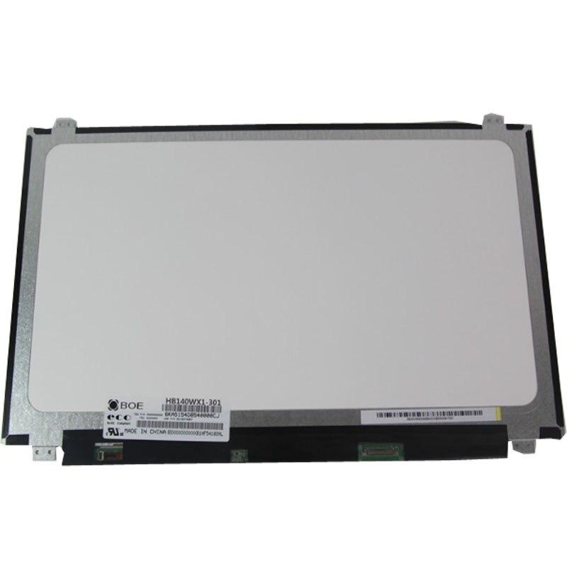"Original Novo Laptop Tela LCD B140XTN02.1 B140XTN02.4 N140BGE-EB3 B140XTN03.2 Para 14 ""Lenovo U430P Z410 E1 Acer V5-472G V7-481G"