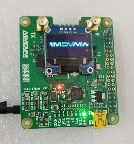 2019 V1.3 MMDVM_HS_Dual_Hat Duplex Hotspot + OLED + Antenne Unterstützung P25 DMR YSF NXDN