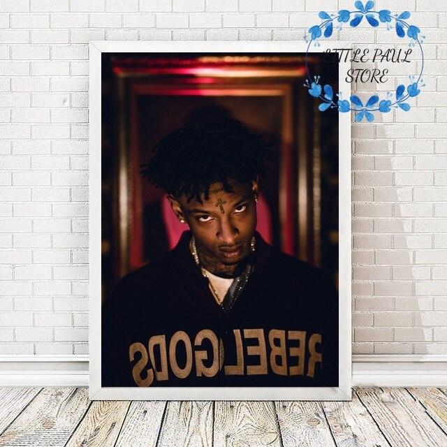 Póster de lienzo para sala de estar, rapero, rapero, estrella, música, Hip Hop 21