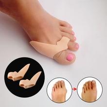 Thumb Valgus Correction Protector Silicone Gel Toe Separator Bunion Adjuster Foot Care Toe Seperating Gel Bunion Shield