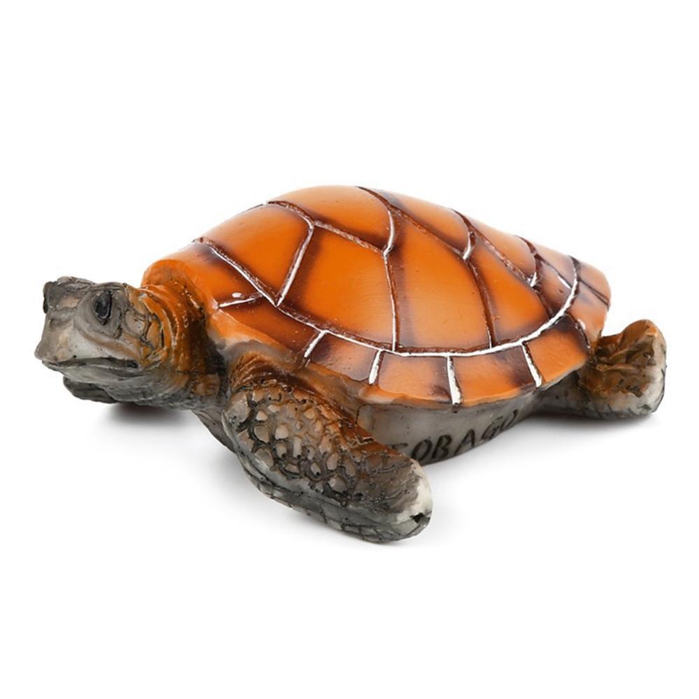 Aquarium Equipment Accessories Resin Turtle Dotted Turtle Tank Decoration Resin Yellow Sea Turtle Ornaments