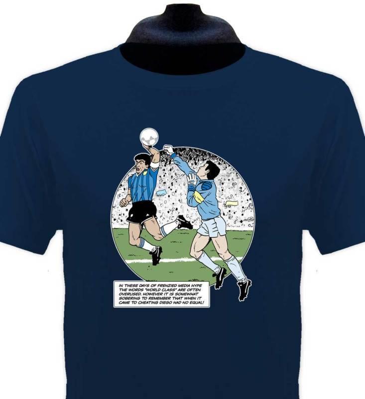 2019 nueva camiseta de verano Maradona Handball camiseta todas las tallas Cool camiseta