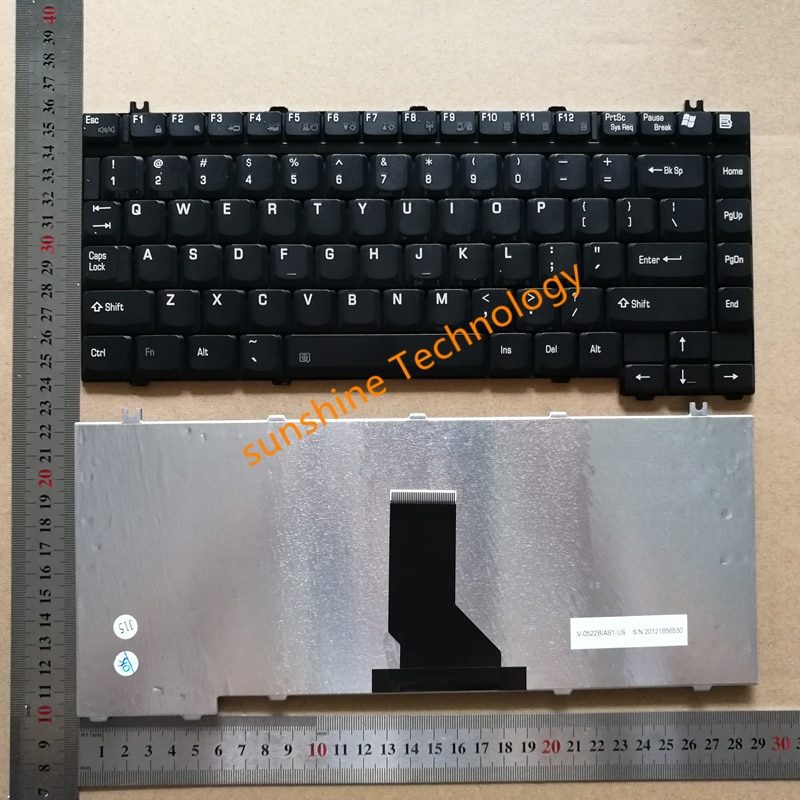 Nuevo teclado para TOSHIBA A10 M30 A100 A105 J11 A135 J70 J60 J60 J61 Tecra S1 S2 S3 M1 M2 M3 M4 M5 M6 A35 M100 V-0522BIAS1-US