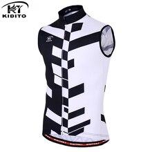 KIDITOKT 2019 été sans manches course vélo cyclisme vêtements respirant cyclisme gilets vtt Sportswears cyclisme maillots