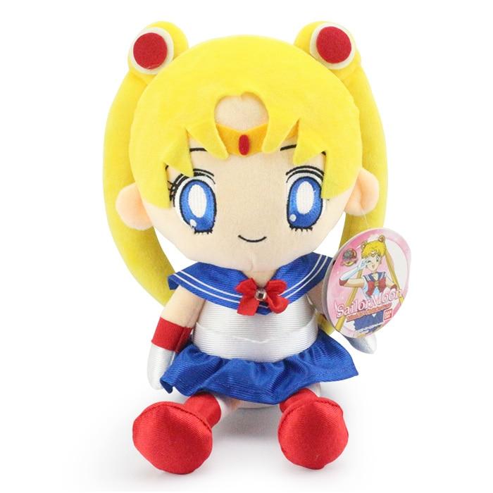 "13"" 32 CM Japanese Anime Sailor Moon Plush Toy Cute Stuffed Dolls Girls Birthday Gift"