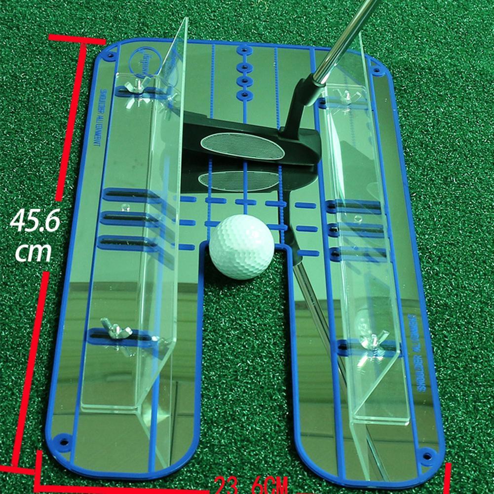 Premium Alignment Putting Mirror-Ayuda de entrenamiento de Golf todo en uno para...