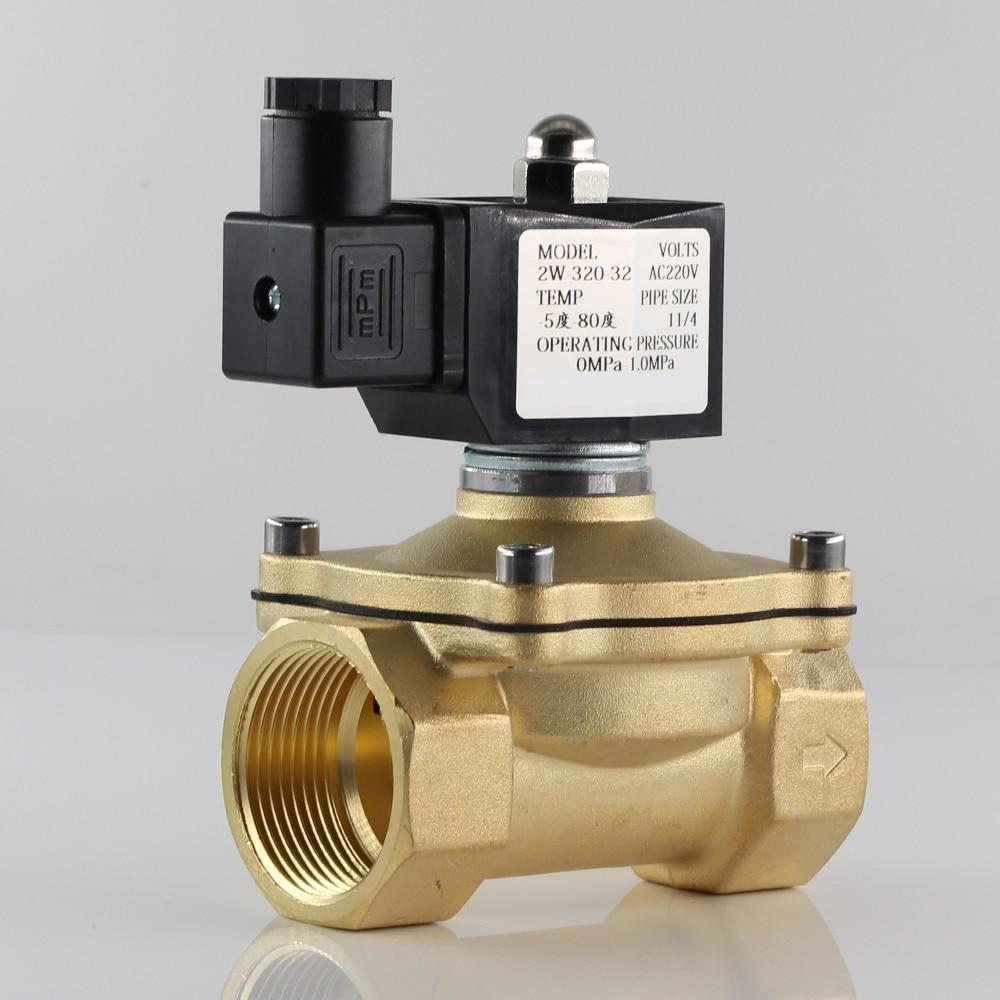 عادة مغلقة الملف اللولبي صمام المياه صمام ، IP65 مغلق تماما لفائف ، AC220V DC12V DC24V ، G3/8