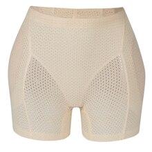 Booty Hip Enhancer Invisibla Lift Butt Lifter Shaper wyściółka majtki Push Up Bottom szorty Sexy Shapewear majtki Hip wyściełane