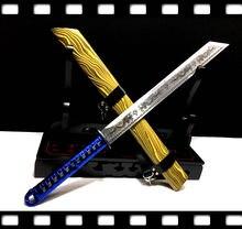 Chinese KungFu Broadsword Sword WuShu Da Dao Strong High Manganese Steel Dragon Blade Sharp Outdoors Fighting Broad Knife