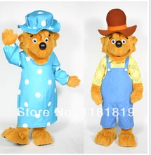 MASCOT bears Parents mascot costume custom fancy costume cosplay kit theme mascotte fancy dress carnival costume