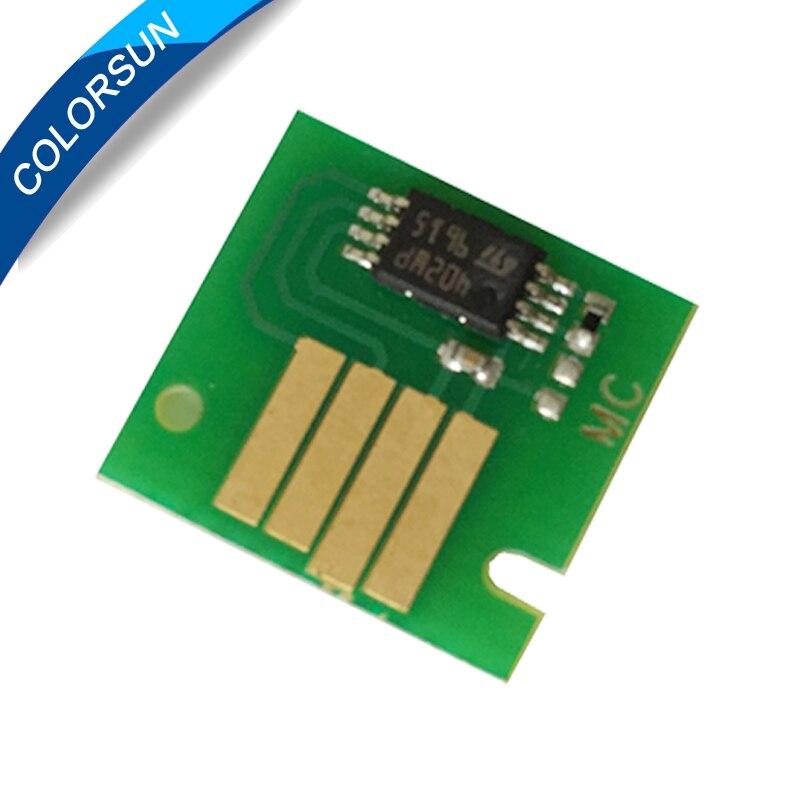 Para Canon MC-08 MC 05 07 09 MC-10 16 una vez depósito de mantenimiento Chip para IPF815 IPF820 IPF755 IPF500 IPF510 IPF600S IPF605 IPF610