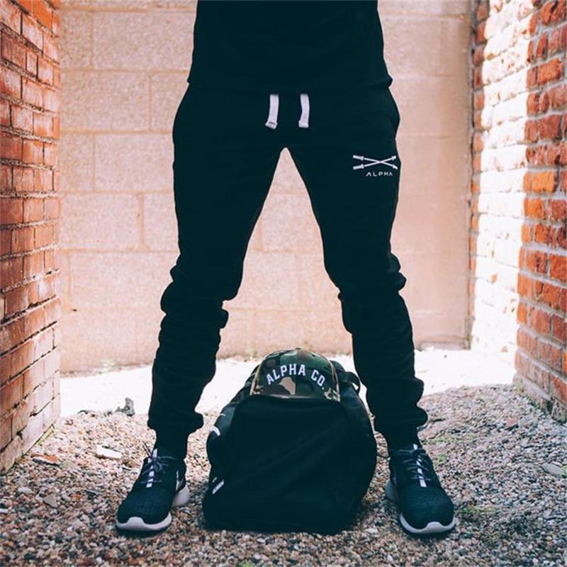 2020, pantalones deportivos para hombre, pantalones bordados de longitud completa, pantalones de chándal, pantalones de moda, pantalones de entrenamiento casuales, pantalones ajustados para correr de algodón