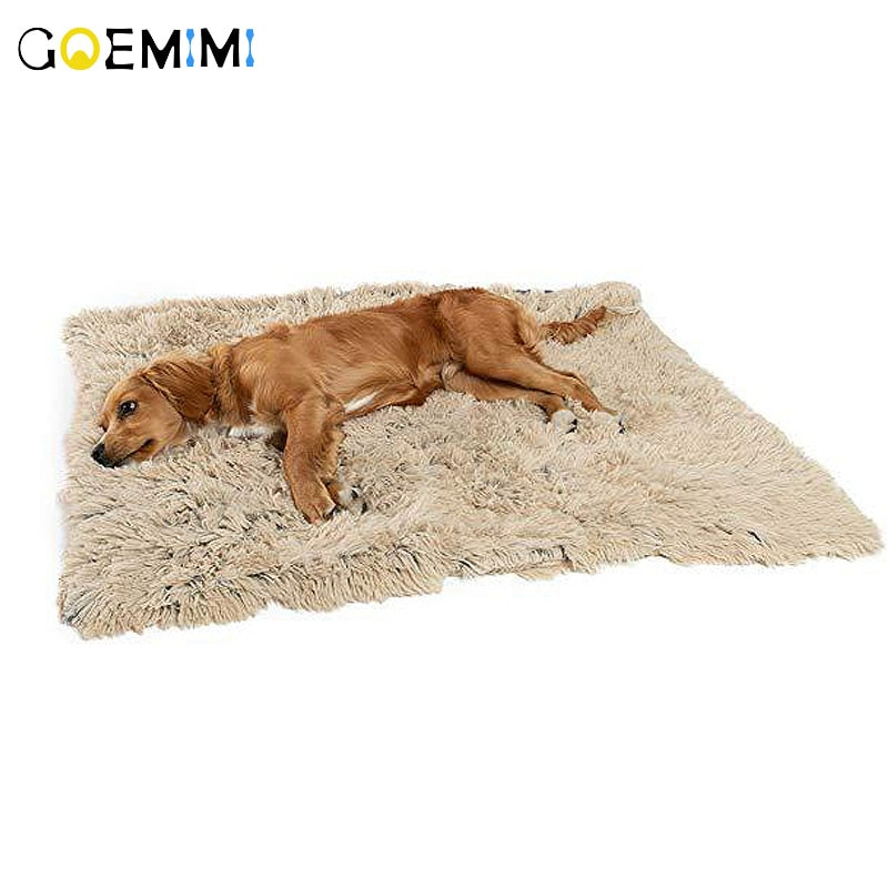 Warm Cat Dog Bed Winter Puppy Dog Blanket Soft Flannel Fleece Sleeping Bed Mat Cover House For Dogs Pet Supplies