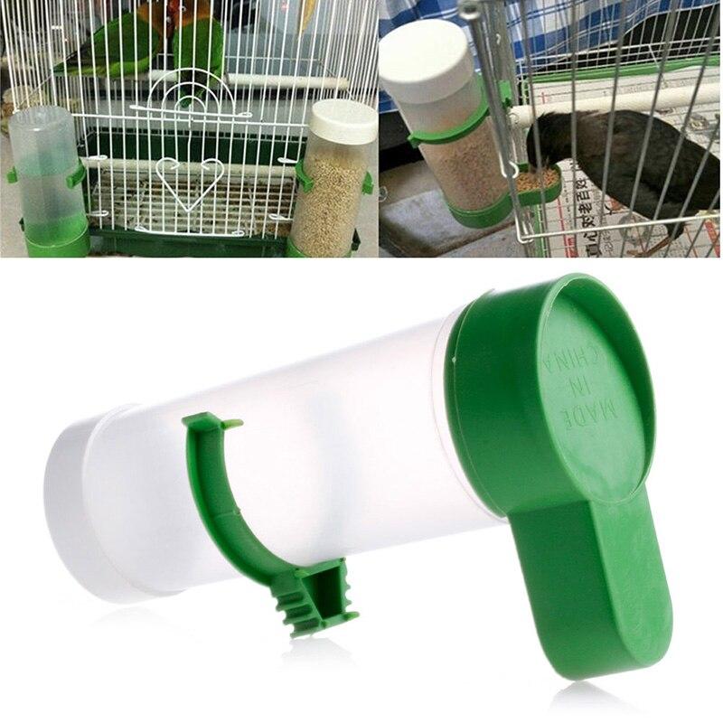 Bird Pet Drinker Food Feeder Waterer Clip for Aviary Cage Budgie Lovebirds NEW jun28