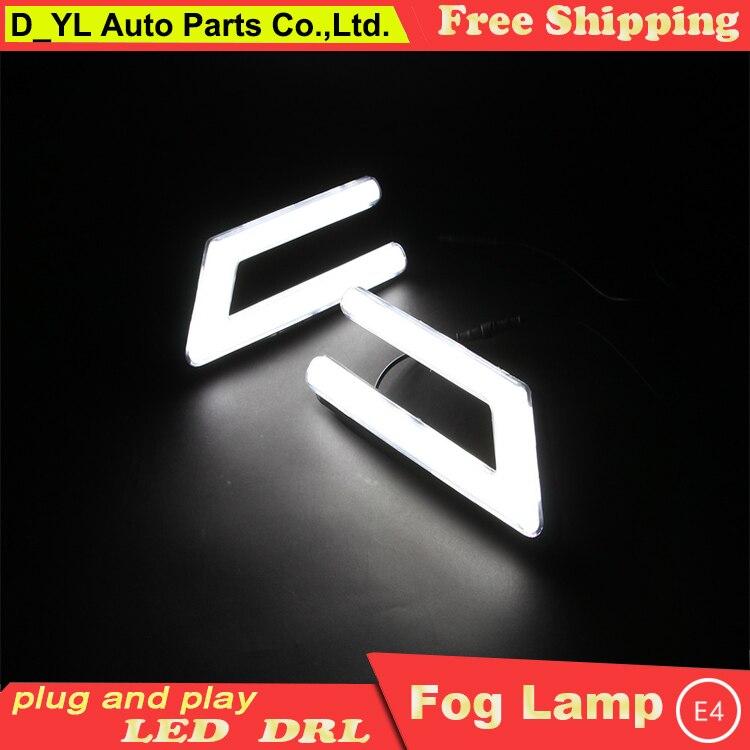 Diseño de coche para Ford Focus LED DRL para focos led antiniebla luces de circulación diurna guía de gran luminosidad LED DRL guía de luz