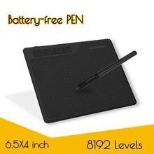 GAOMON S620 6.5x4 סנטימטרים דיגיטלי Tablet אנימה, גרפי Tablet עבור ציור ומשחק OSU עם 8192 רמות סוללה-משלוח עט
