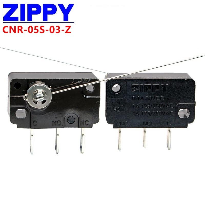 5 قطعة زيبي التبديل الجزئي CNR-05S-03-Z 3PIN 5A الجديدة والأصلية
