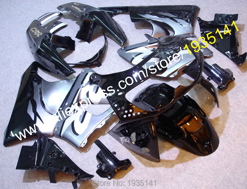 For Honda CBR900RR 919 1998-1999 CBR900 RR CBR 900RR 98-99 CBR919 Black Silver Aftermarket Sports Motorcycle Fairing