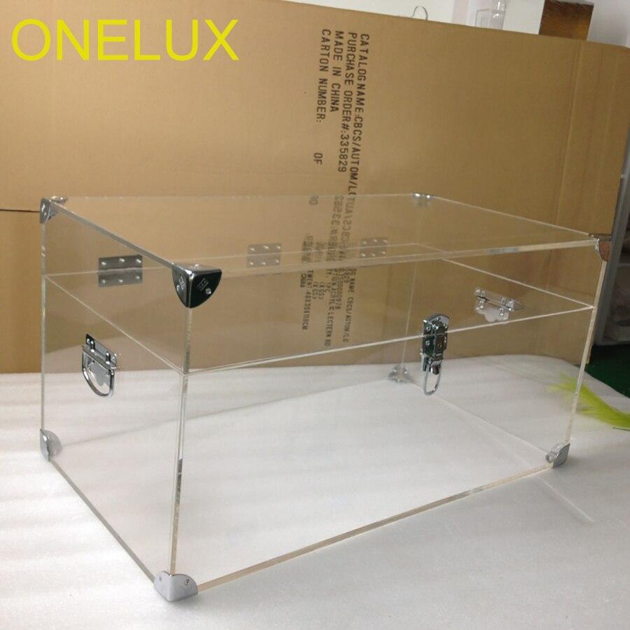صندوق ملابس من الأكريليك الشفاف ، صندوق تخزين لوسيت ، مصنوع حسب الطلب