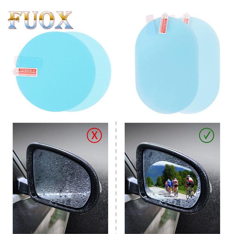 Pegatina de coche Anti niebla, impermeable, 2 unidades, película protectora para espejo retrovisor para Audi A1 A3 A4 A5 A6 Q3 Q5 Q7 B8 C5 C6 TT, accesorios