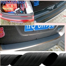 Etiqueta engomada del coche de goma para parachoques trasero cero protección para ford focus 2 kia rio hyundai creta hyundai solaris lifan x60 ford focus 3