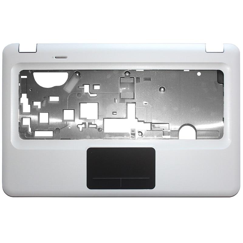 Laptop NOVO top case Para HP Pavilion DV6-3000 DV6 Branco painel Do Teclado C Shell Palmrest Touchpad top tampa Superior