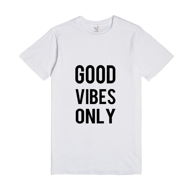 Buena onda sólo TEE Tumblr diciendo las mujeres camiseta Camiseta de algodón...