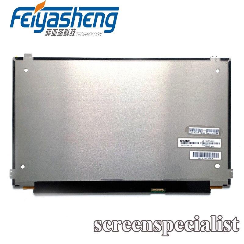 15,6 LED pantalla LCD LQ156D1JX01 LQ156D1JX01B 3840*2160 4K 1000 1 UHD Panel de visualización para Toshiba