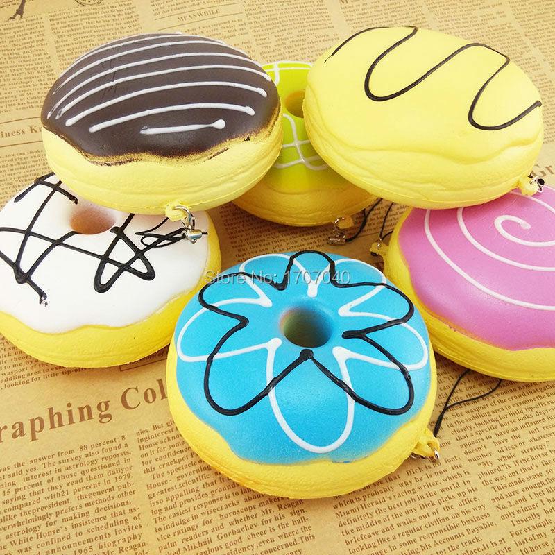10 cm Sweet Roll Big Kawaii Multy-mood pan regalo chico juguetes blandos simulación Donuts coleccionables