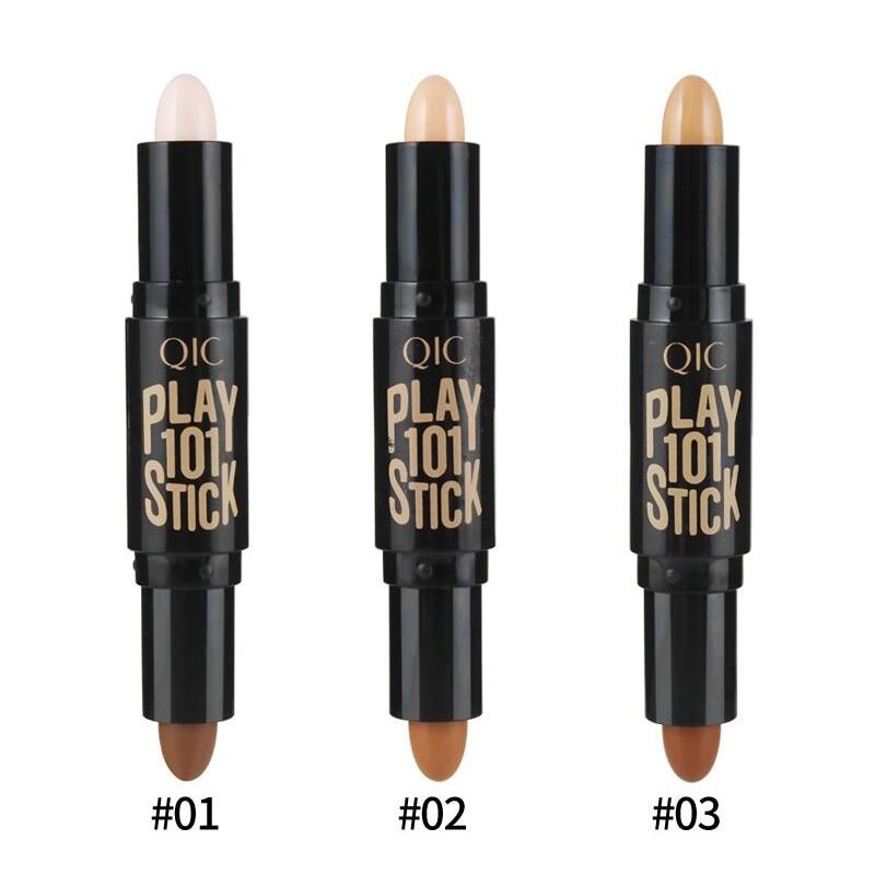 Señora resalte Barra de contorno maquillaje de belleza crema en polvo crema corrector de brillo Pen 2017
