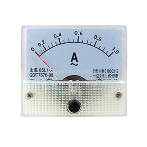 85L1-A AC 0-1.0A Rectangle Analog Panel Ammeter Gauge Ammeter