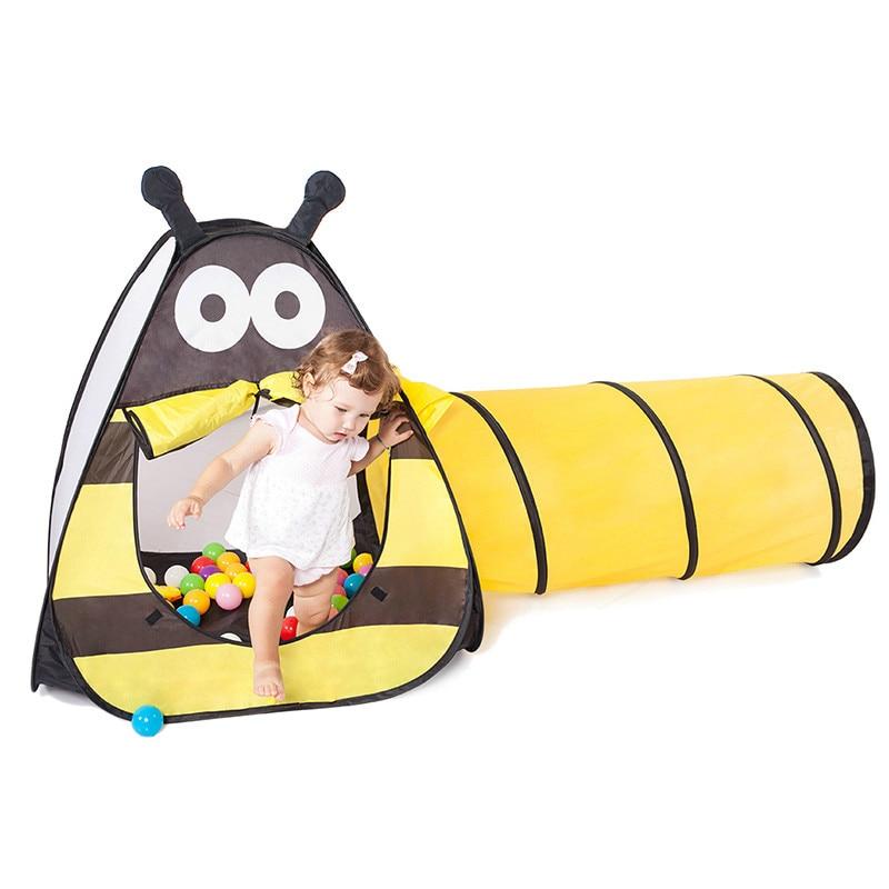 Casa Marina PISCINA DE BOLAS interior y al aire libre niños tienda de juguete casa túnel tienda valla al Aire Libre juegos de césped