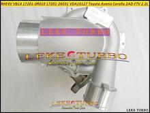 Bezpłatny statku VB14 17201-0R011 1720126031 VDA10127 VEA10127 Turbo do TOYOTA Avenis Corolla VERSO D-4D 2005-2AD 2AD-FTV 2 ADFTV 2.2L