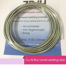 2.0 milímetros * 3 m de alumínio de cobre Cu-Al flux cored fios de soldadura para o reactor de alto fluxo, motor, transformadores de solda etc