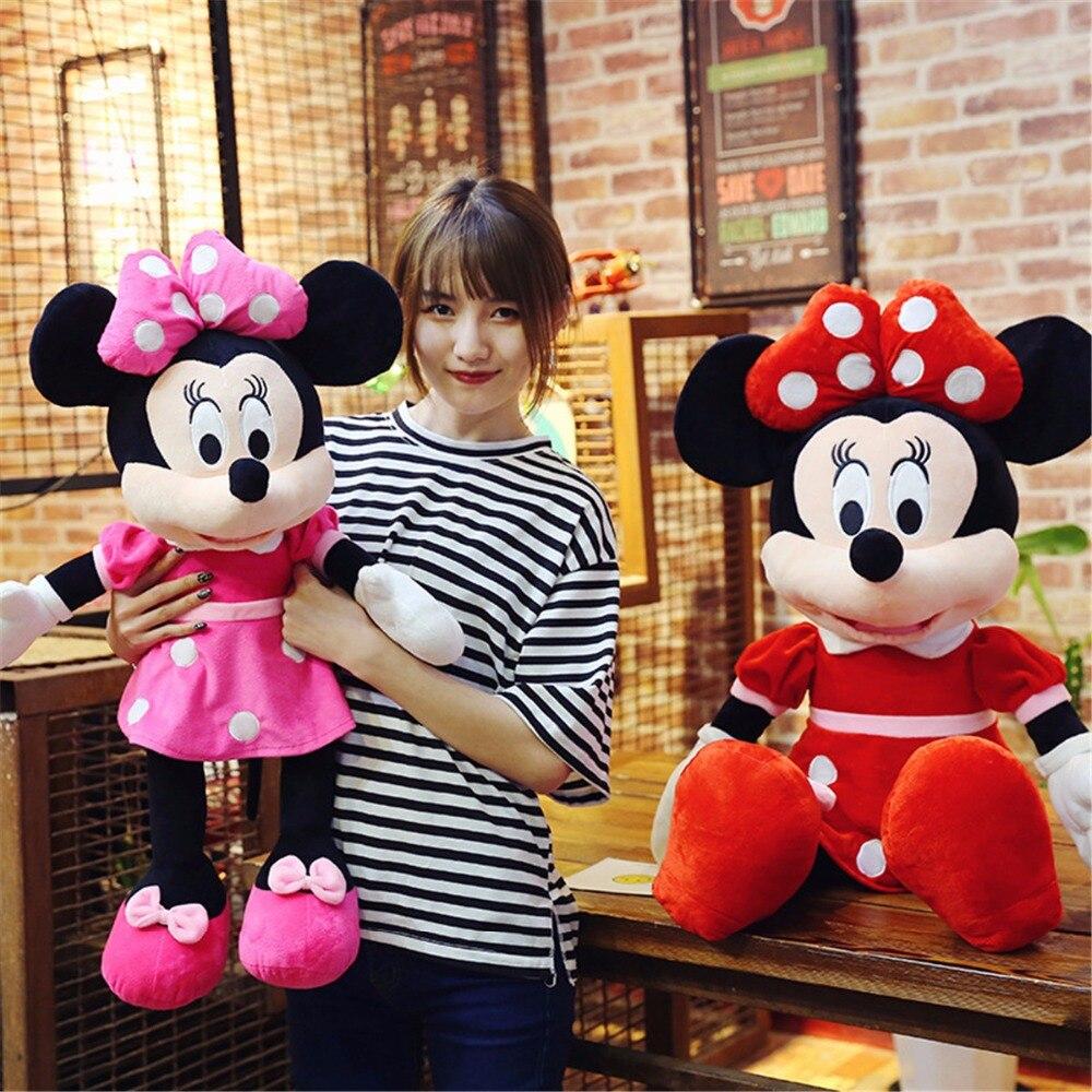 1 ud./lote 40-100cm gran oferta Mickey o minnie Mouse peluche muñeca para cumpleaños navidad regalo bebé dormir Juguetes