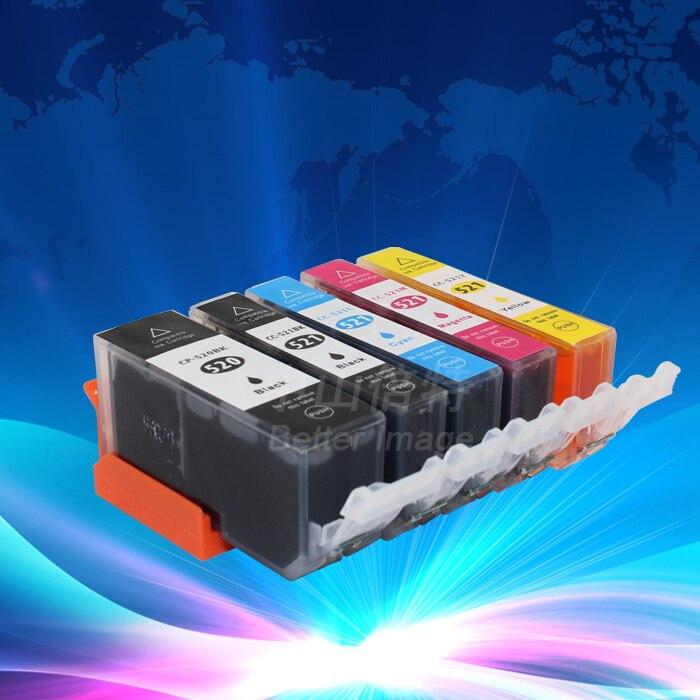 Чернильный картридж PGI 520 BK CLI 521 BK C M Y для canon PIXMA MP540/MP550/MP560/MP620/MP630/MP640, 5 шт.
