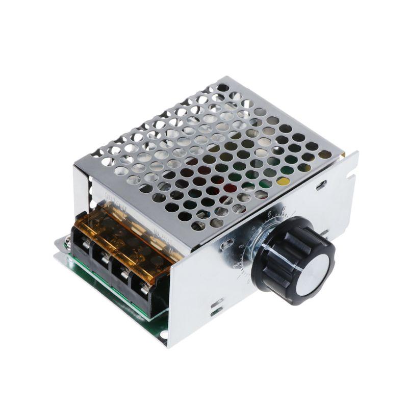 AC 220V 4000W высокая мощность SCR регулятор скорости Электронный регулятор напряжения