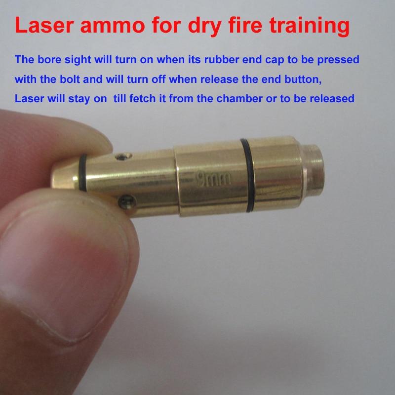 9 мм лазерный патронный лазерный тренажер пистолет лазерный картридж для обучения сухому огню