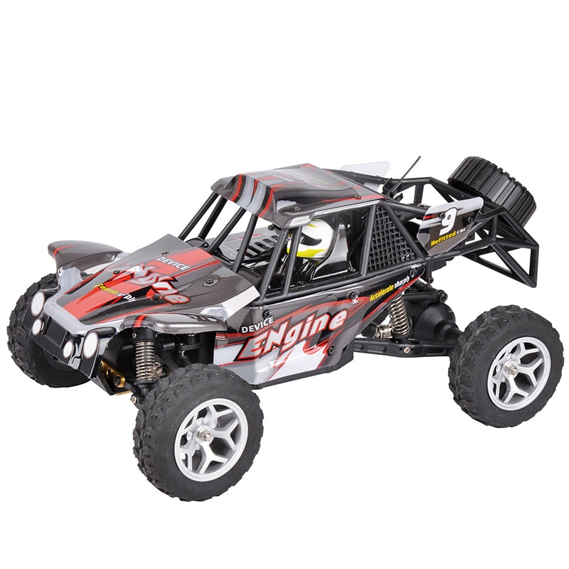 Electric RC Car 18429 1/18 40KM high speed RC RTR Brushed Monster 4WD remote control Truck desert Off-road Car with LED light enlarge