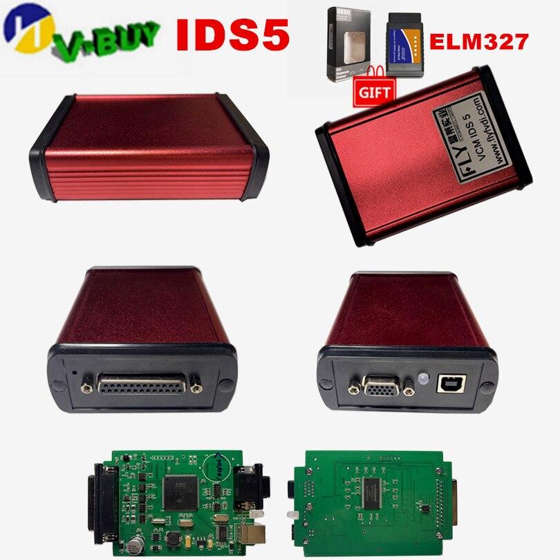 DHL gratis Nueva mosca original IDS 5 OBD2 herramienta de diagnóstico 110,01 Auto OBD escáner actualización libremente ids5