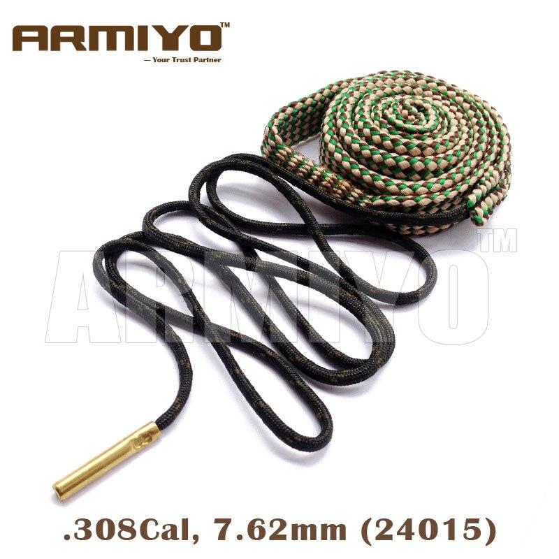 Armiyo 7,62mm. 30Cal. 308. 30-06 pistola Cal cepillo de perforación cuerda barril de limpieza Sling AK limpiador táctico accesorios de caza 24015