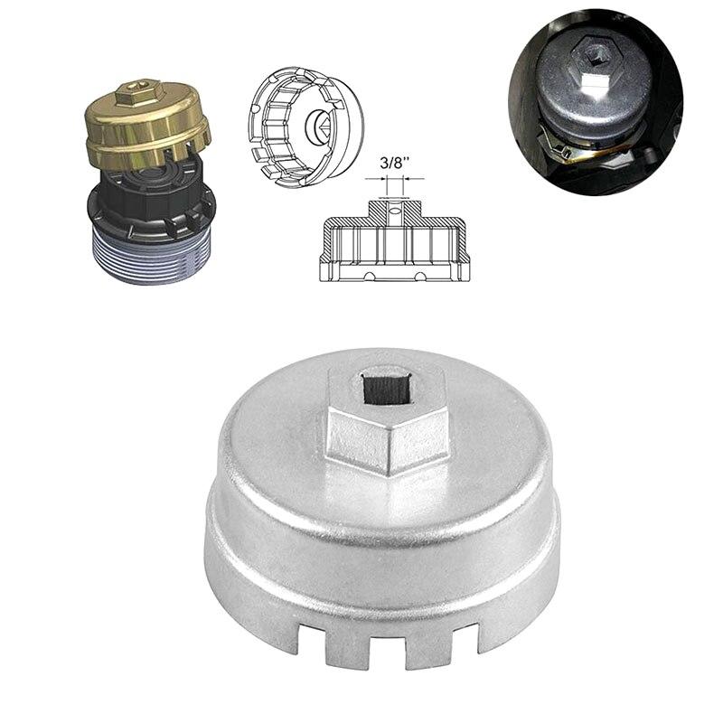 Алюминиевый автомобильный масляный фильтр, набор гаечных ключей для Toyota Prius Corolla Rav4 Auris