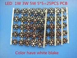 25 pcs 1 w 3 w 5 w Dissipador de Calor LEVOU Placa Base de Alumínio Placa PCB Substrato 20mm Estrela kit DIY Dissipador de calor de Refrigeração 20mm para 1 3 5 w Watt