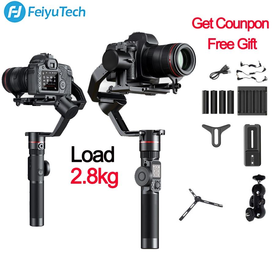 3-осевой Стабилизатор камеры FeiyuTech Feiyu AK2000 для Sony Canon 5D Mark 80D Panasonic GH5 Nikon D850 VS zhiyun crane 2