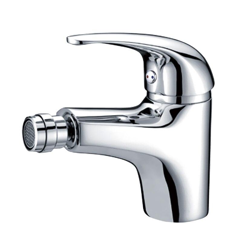 Envío Gratis Singe agujero un baño con bidé con grifo mezclador grifo montado cubierta Estilo clásico
