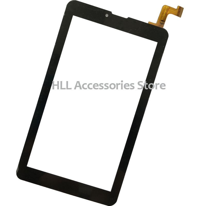 Envío Gratis 7 pulgadas Panel de pantalla táctil digitalizador de cristal Sensor para digma plane 7,4 4G XC-PG0700-133-A0-FPC