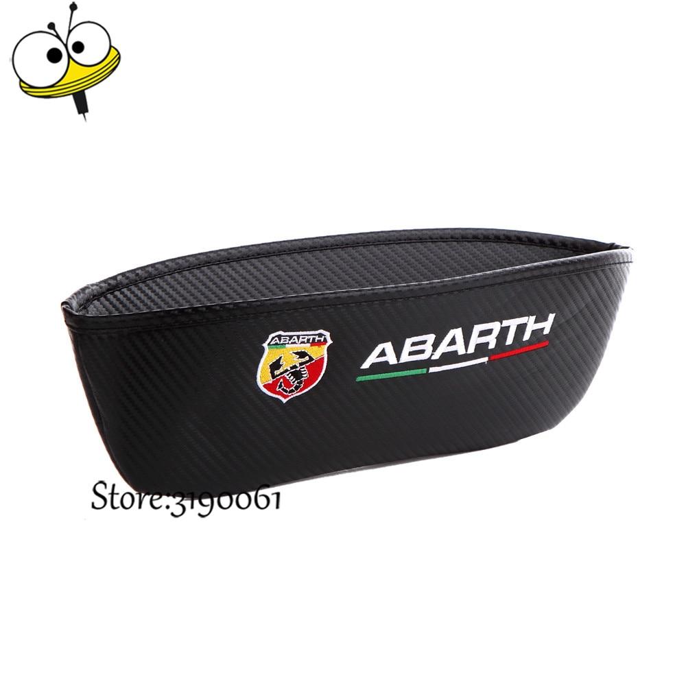 Car Accessories Car Organizer Storage Bag Seat Gap Pocket For Fiat Abarth 500 595 695 124 131 204 Punto Alfa Romeo Berlinetta