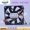 חדש NMB-MAT NMB 2806KL-04W-B89 7015 DC12V 0.65A עבור DELL מעבד קירור מאוורר